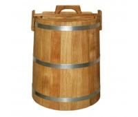 Кадка дуб для солений 10 литров