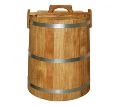 Кадка дуб для солений 50 литров Россия